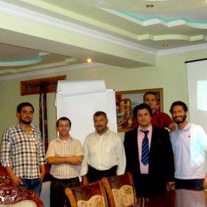 GIS Mapping and QGIS Training in Tajikistan